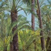 'Palmeral' 2008 · 97x162 · Óleo sobre lienzo
