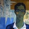 'Autorretrato' 1965 · Óleo sobre lienzo · 54x65 · Colección del pintor