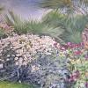 'Jardín' 2002 · Óleo sobre lienzo · 65x100 · Colección particular