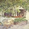 'La Hora del Café' 1996 · Óleo sobre lienzo · 65x81 · Colección particular