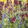 'Malvas' 2004 · 81x100 · Óleo sobre lienzo · Colección particular