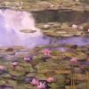'Nenúfares' 2005 · Óleo sobre lienzo · 65x73 · Colección particular