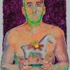 'Miguel' 2012 · Óleo sobre papel · 70x50