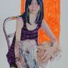 'Sole' 2012 · Óleo sobre papel · 70x50