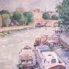 'París' · Óleo sobre lienzo · 46x35 · Colección particular