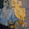 'Planchadora' 1965 · Óleo sobre lienzo · 81x100 · Colección particular