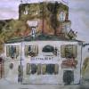 'Restaurant' 1965 · Acuarela · 21x30 · Colección del pintor