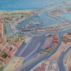 'Puerto de Valencia' 2012 · Óleo sobre lienzo · 81x100