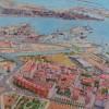 'Puerto de Valencia' 2012 · Óleo sobre lienzo · 97x170