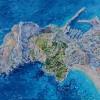 'Peñón de Ifach' 2012 · Óleo sobre lienzo · 65x81