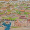 'Port Saplaya' 2012 · Óleo sobre lienzo · 30x100